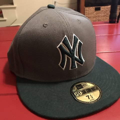71cf144f4d3fc New York Yankees New Era 59 50 hat Size 7 1 2 Awesome to - Depop