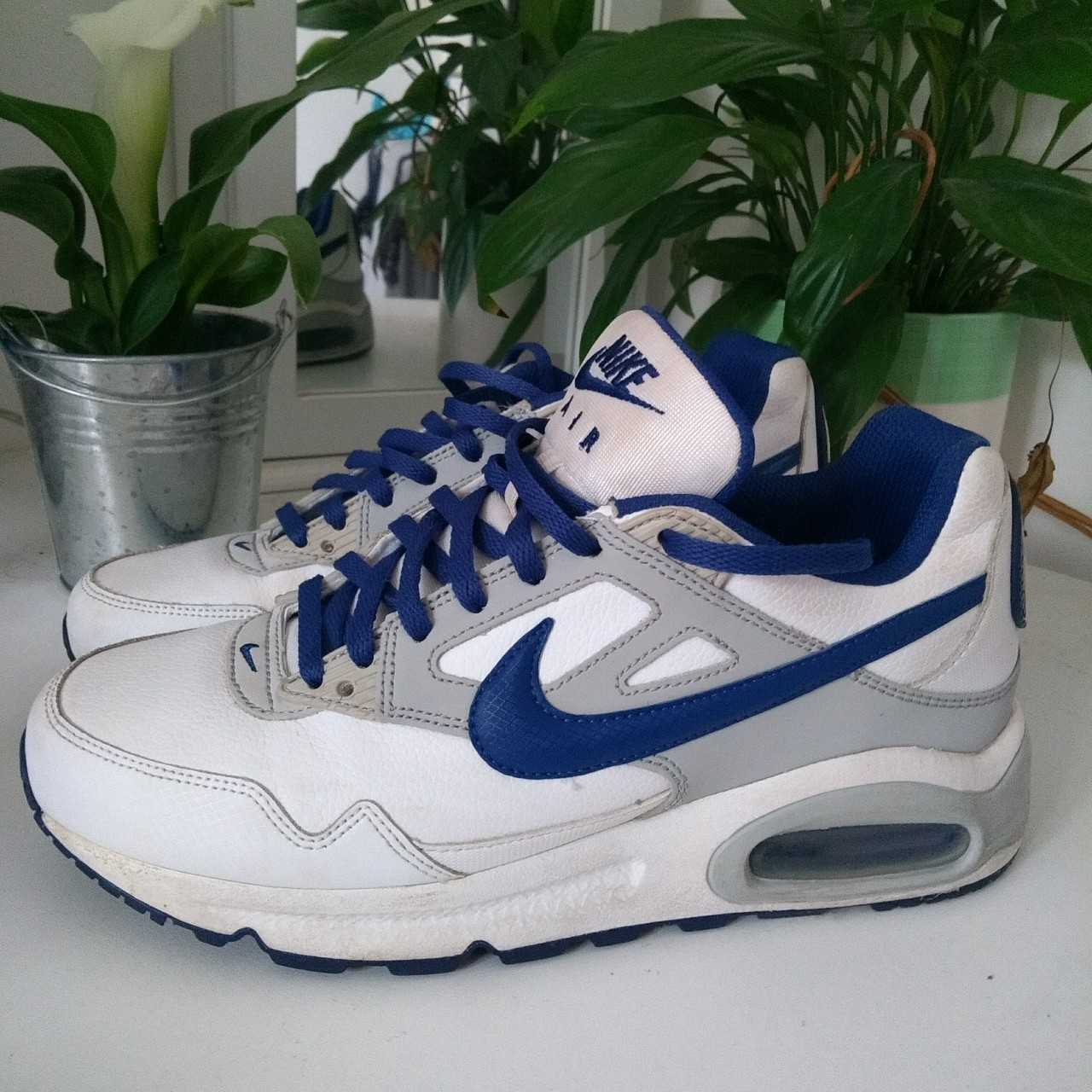 Old Nike and Maxwhiteblue Air school greyDepop VzjMLqpGSU