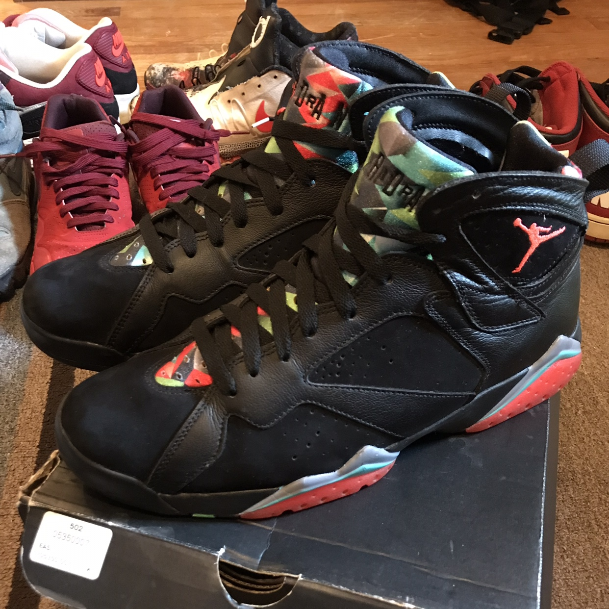 "new styles fd318 86449 Nike Air Jordan Retro 7 30th Anniversary ""Barcelona... - Depop"