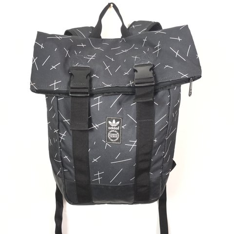 919d1c351d6 ... new concept 27b37 2ac91 ADIDAS ORIGINAL URBAN ROLL UP RUCKSACK BACKPACK  BAG - LIKE - ...