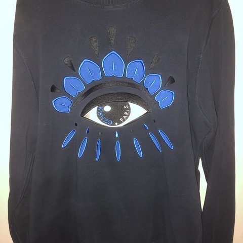 e62b99ba89 Large kenzo jumper for sale, brand new worn a couple times - Depop
