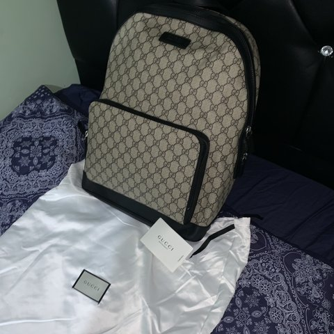 d9cd972eae8a53 @naod12. 21 days ago. Salford, United Kingdom. GUCCI BACKPACK Excellent  condition ...