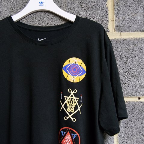 8dc83ad2e07 Nike Net Collectors Society NCS T-Shirt, Black, Size XXL A - Depop