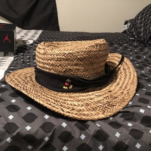 ad148ba14a6d @psychodelically. 9 months ago. Florence, United States. Mickey Mouse  Disney straw hat