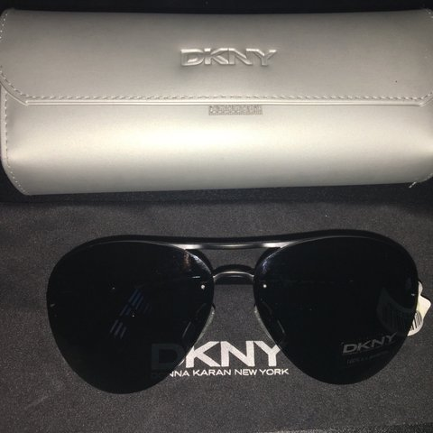 f51b04adb8e 😌Authentic DKNY sunglasses. 😎🖤  Brand new with tag and - Depop
