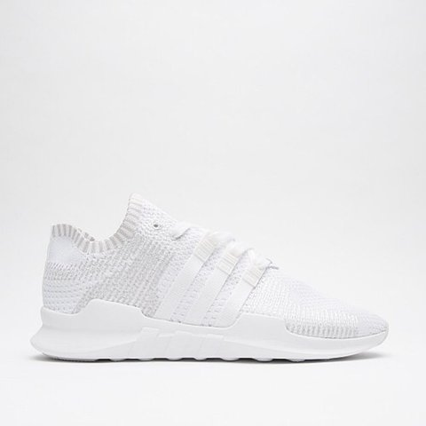 36269b55d58 White Adidas EQT support ADV primeknit trainer size 8. Only - Depop