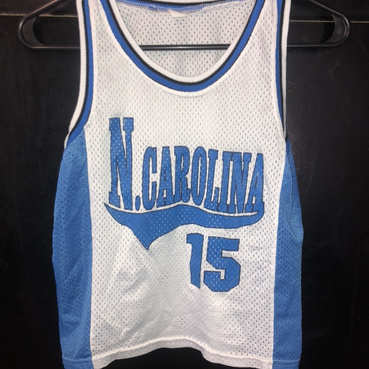 the latest cb7f3 779be North Carolina Youth Basketball Jersey UNC Tarheels ...