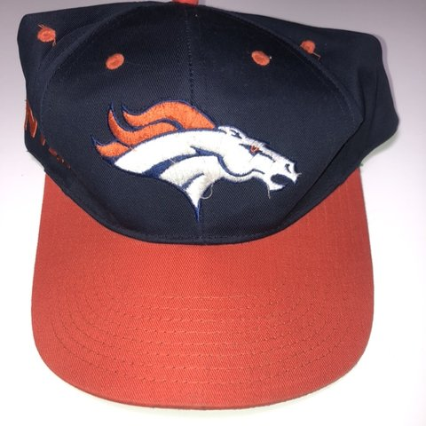 e5728c7db @everythingvtg. 3 months ago. Westminster, United States. Denver Broncos  Vintage SnapBack Hat Cap NFL Football Twins Enterprise