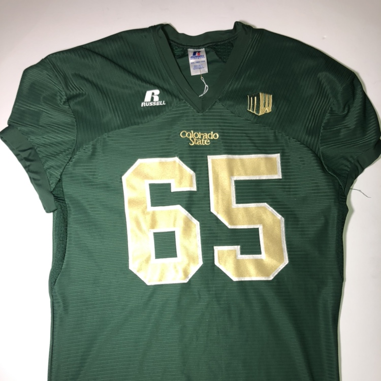 competitive price 5ff7c 7e335 Colorado State Rams Football Jersey NCAA Russell... - Depop