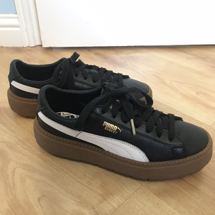 best website e030c 7af5a ❗️❗️REDUCED❗️❗️- want these gone. Puma leather ...