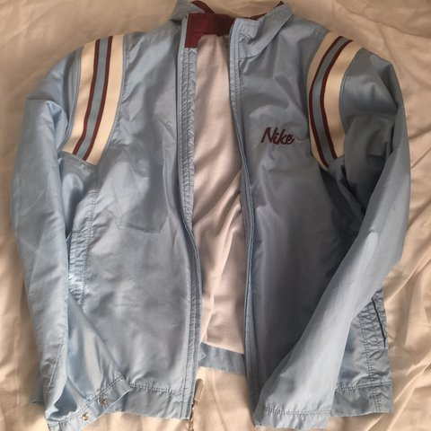 6709930457 vintage like beautiful nike windbreaker   jacket!! so cute