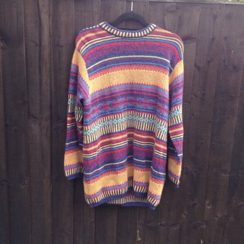 8be9766eded This jumper is absolutely INSANE! 😍😍 a vintage 80s early - Depop
