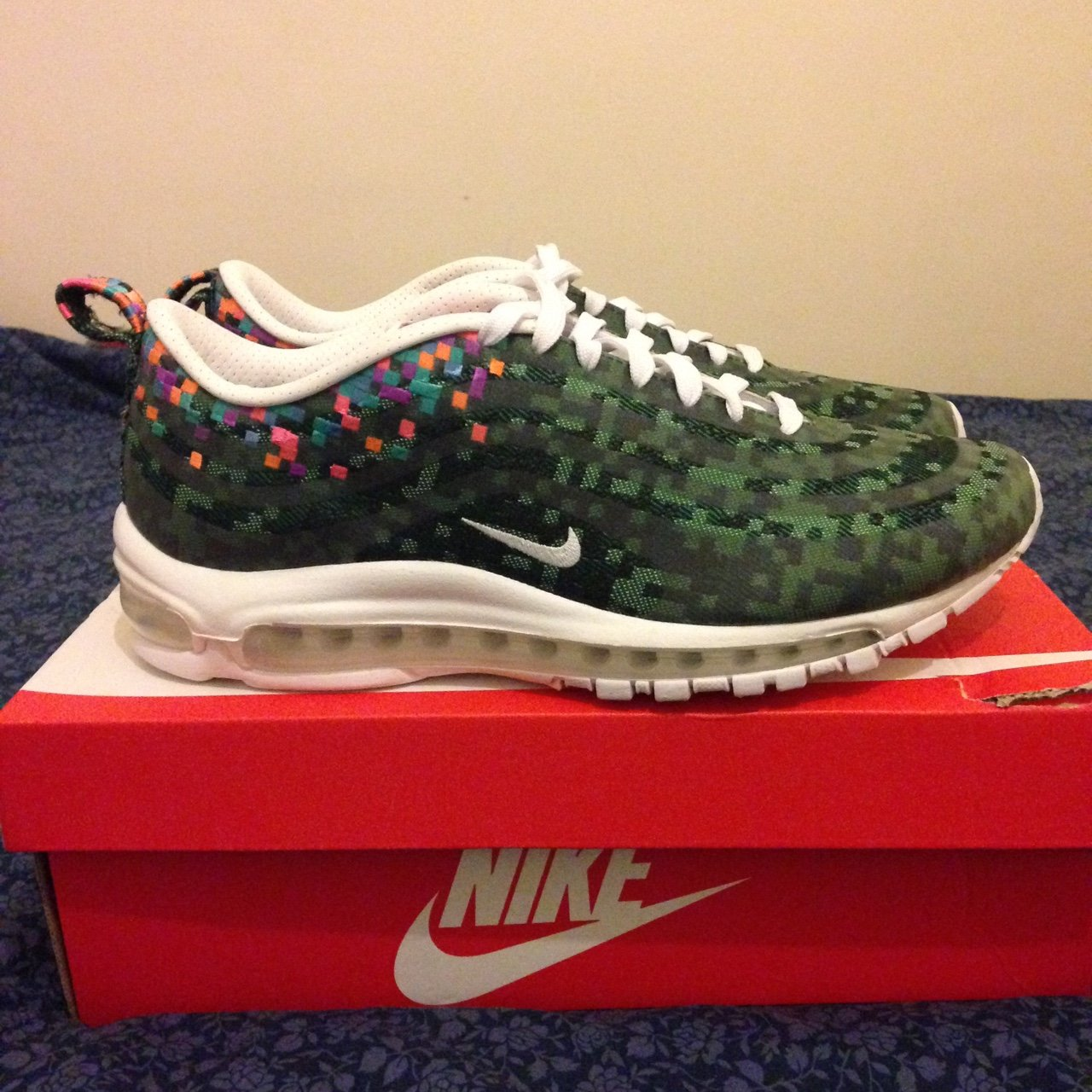 Nike Air Max 97 Rio SP - UK Size 8.5 (Comes with additional - Depop f83084266a