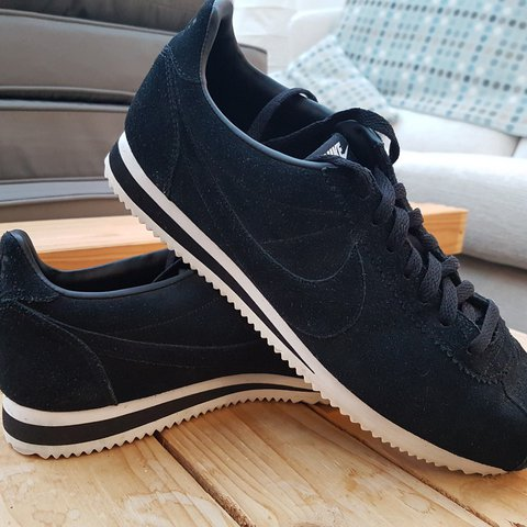 brand new 8eda3 41ed2 Men's Nike Cortez Black Suede Trainers Only ever... - Depop