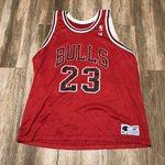 fca8c0048a2 Mitchell and Ness Michael Jordan  96 All Star Game 2x Size - Depop
