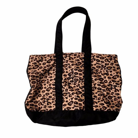 28d960e35408 Lauren By Ralph Lauren Monogram Animal Print Tote Ralph bag - Depop