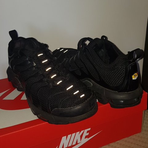 565b58d43d ON HOLD Nike Air Max Plus TN Ultra Black Anthracite Too US - Depop