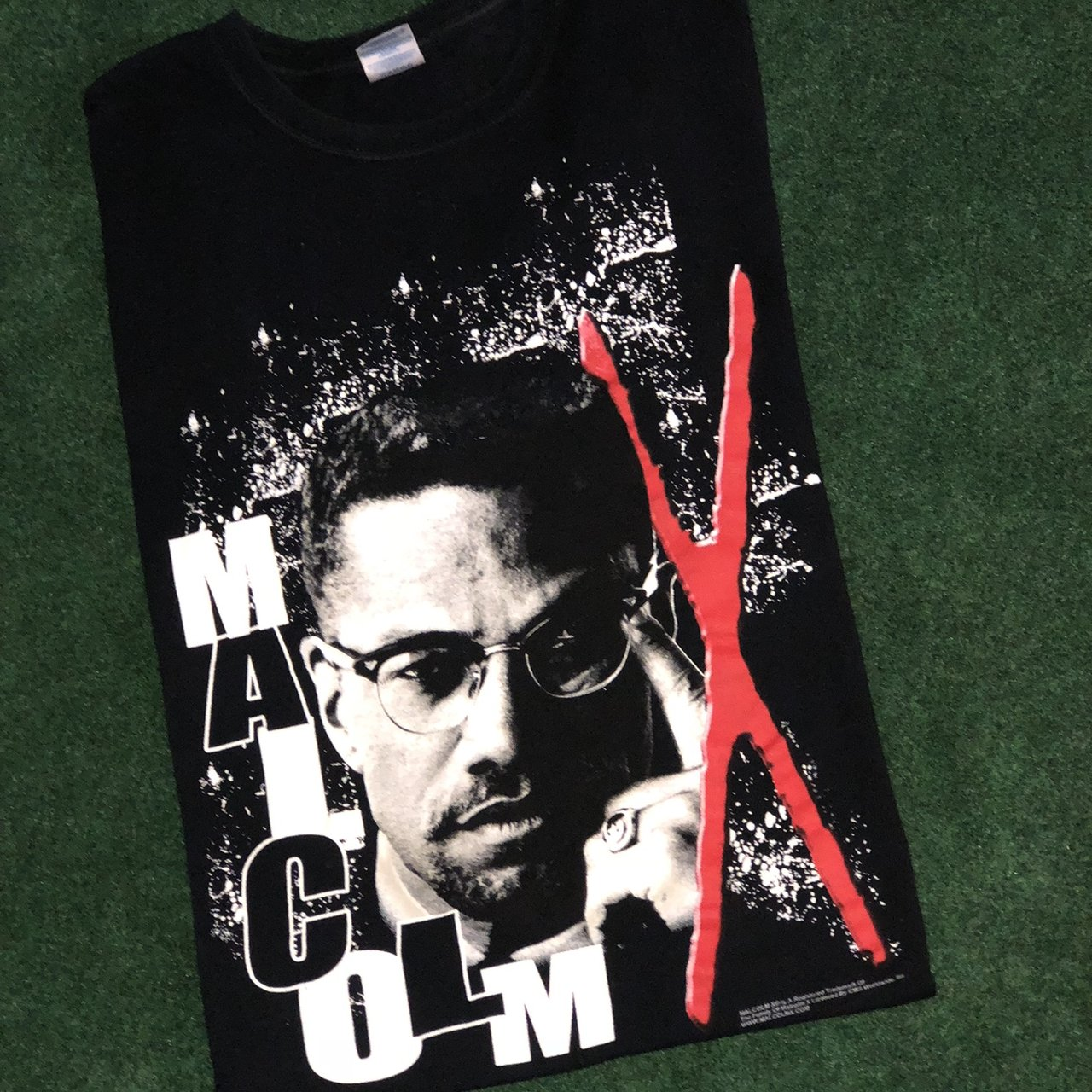 ce2133cdc Vintage Malcom X tee light