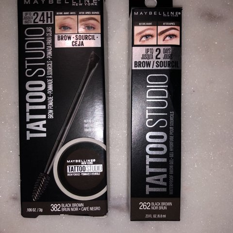 New Maybelline Brow Products Maybelline Tattoo Studio Depop