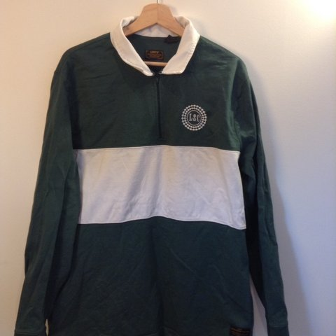 ea0c7360d8c @pizzaboxclothing. 6 days ago. Leeds, United Kingdom. Levi's Skateboarding  Zip Up Rugby Shirt