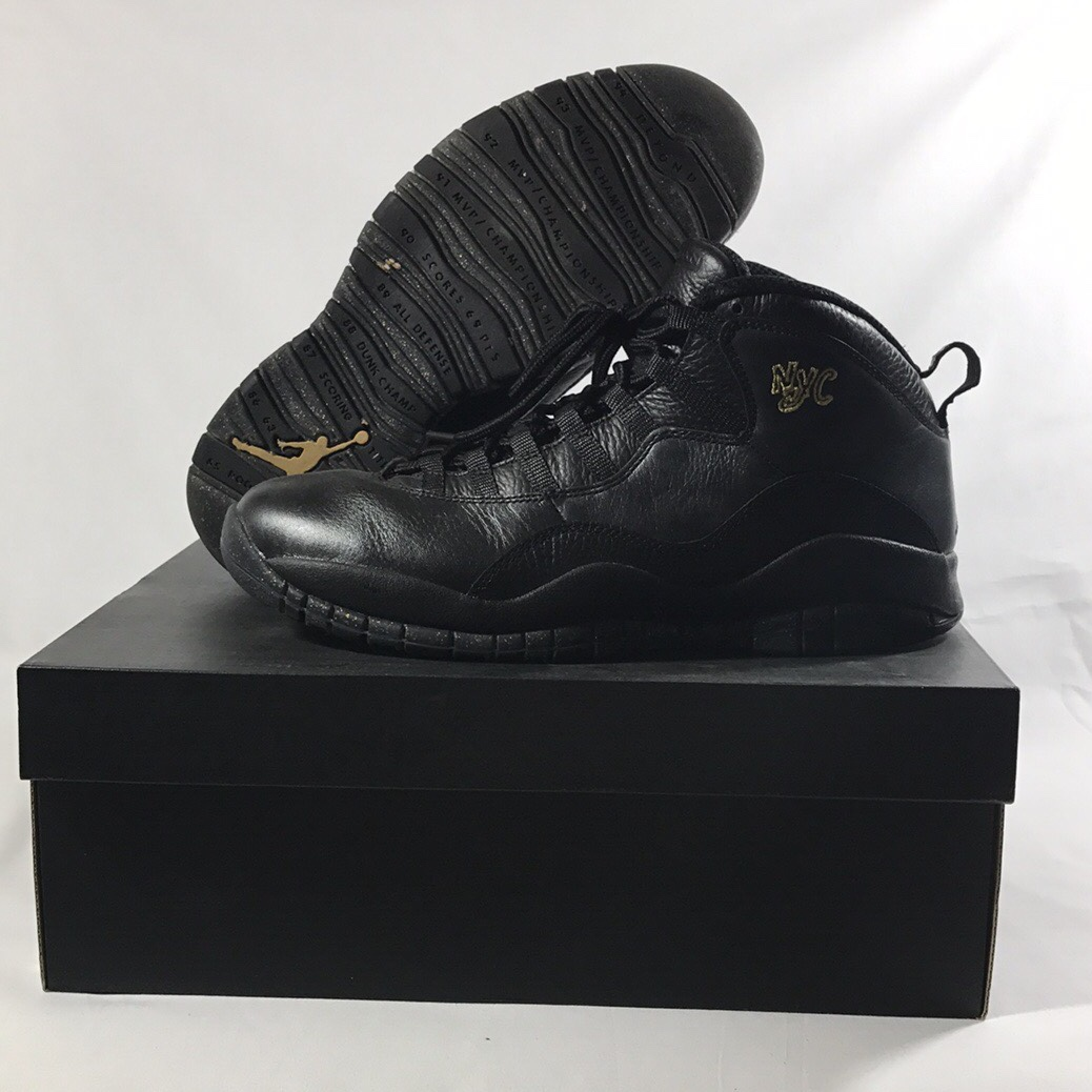 best service fb61e 9c833 Nike Air Jordan Retro 10s NYC - Depop