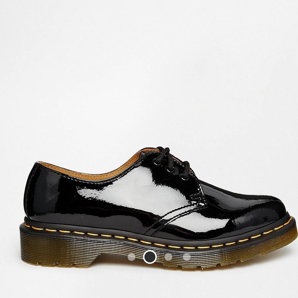 Dr Martens 1461 Classic Black Patent Shoes NWT NWT