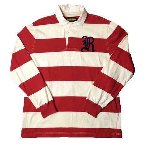 1bfee197d9c Vintage Ralph Lauren Polo Rugby Long Sleeve 10/10 no rips - Depop