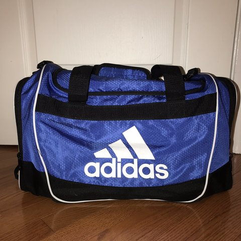1d042107c0 New blue and black adidas duffel bag. Very big and spacious, - Depop