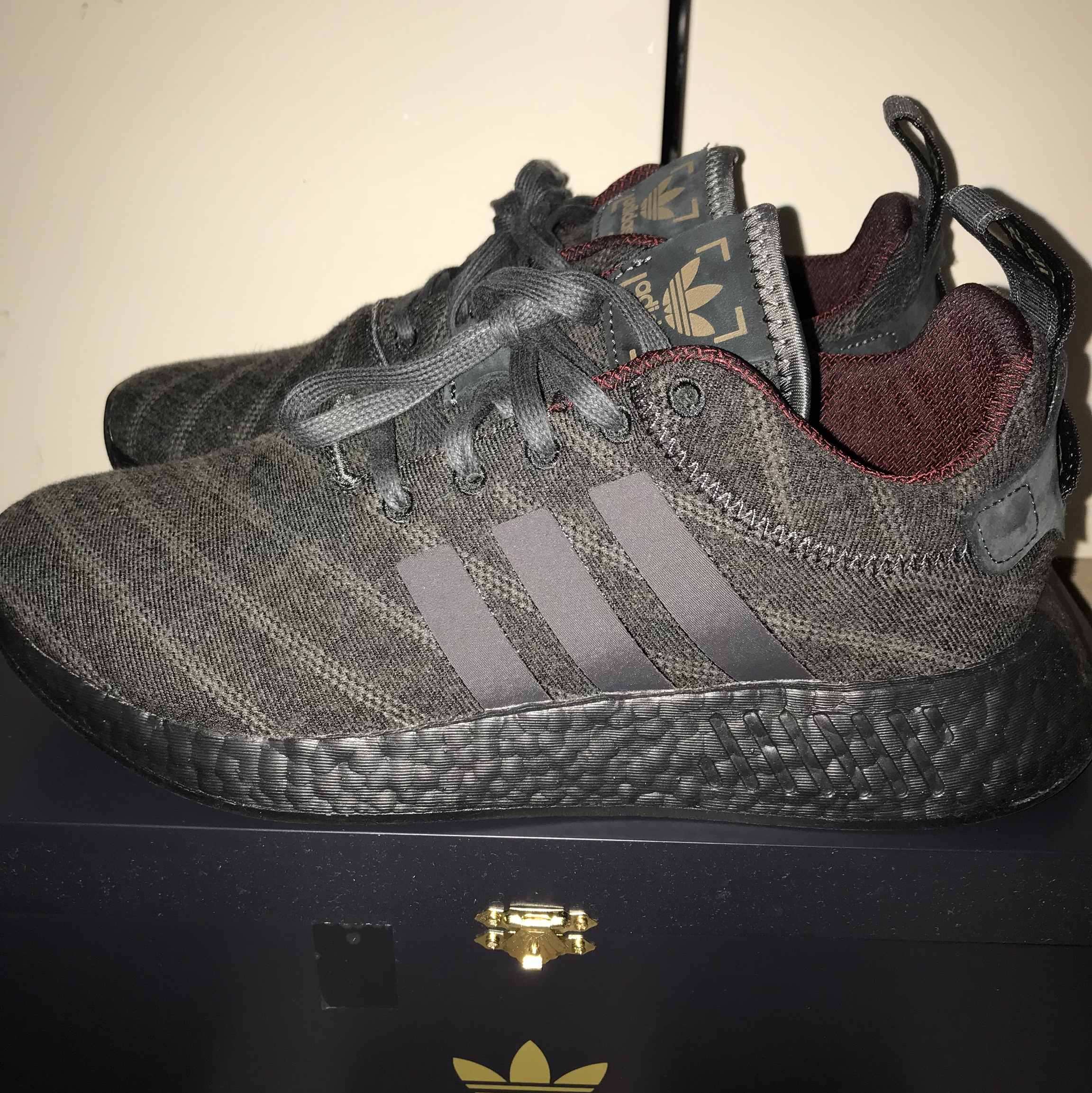 buy online 0d7c2 ae5ad Deadstock Adidas x Henry Poole x Size? NMD R2 UK... - Depop
