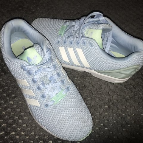34783f4bd595e Women s Adidas Torsion ZX Flux trainers. Bought for £80 from - Depop