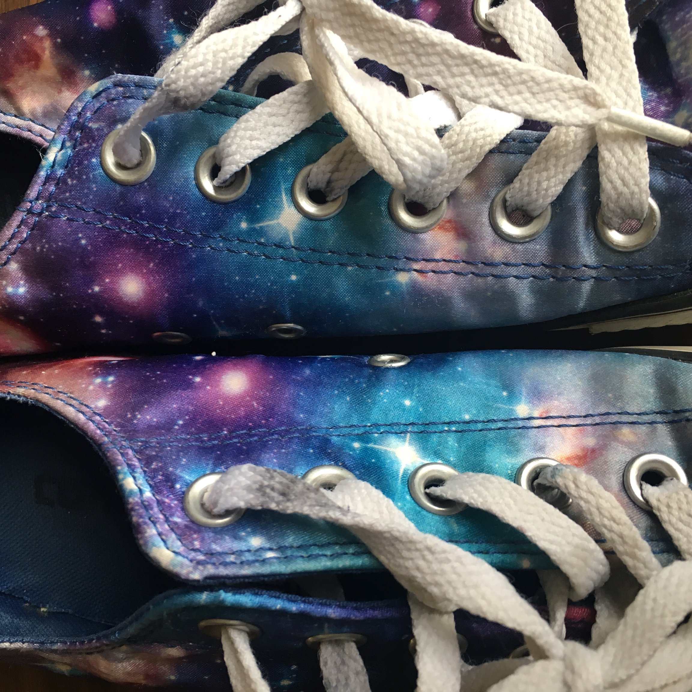 galaxy Converse All Star size 7 Women #converse Depop