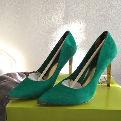 cb1f1ae07 Brand new in box. Green  Teal ted baker heels.  brandnew - Depop