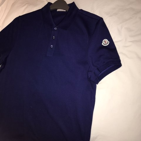 e83a6955 @lowkey1. 2 months ago. Romford, United Kingdom. Moncler polo t-shirt. Size  medium but will fit ...