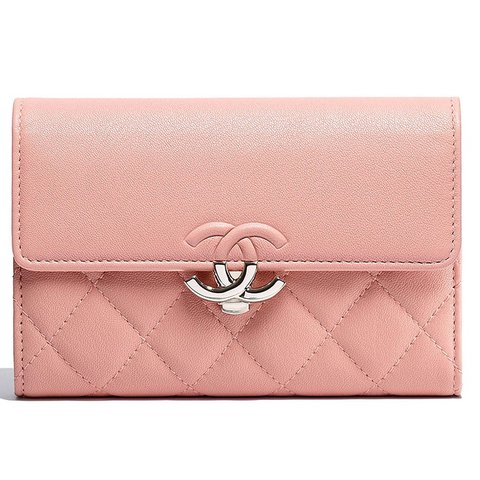 4d1324c45d74 @richanel. 5 months ago. San Diego, United States. Authentic Chanel 2018 Wallet  Clutch Coin Purse Card ...
