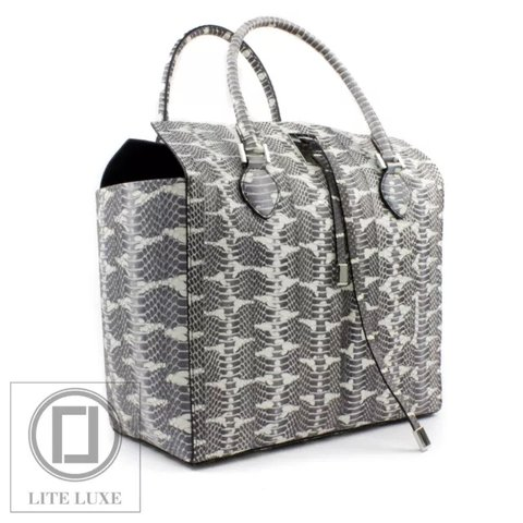 c2752f3c801a @liteluxe. last month. Richmond, United Kingdom. MICHAEL KORS COLLECTION  MIRANDA LARGE TOTE GENUINE MANGROVE SNAKESKIN IN NATURAL *BRAND NEW ...