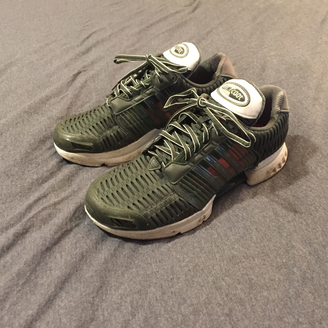 Barely worn Adidas clima cool trainers in...