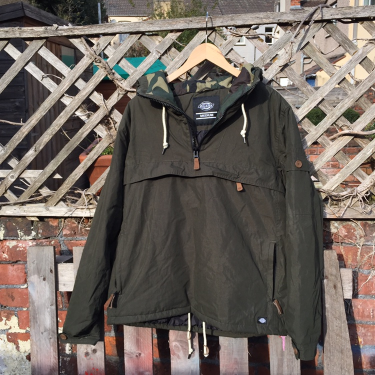 great look pretty cheap shades of DICKIES RAINCOAT ARMY GREEN CAMO LINING BARELY ...