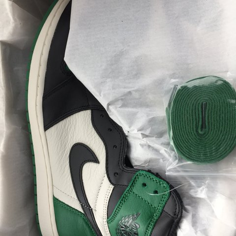 "1963fcde755 @iceysolez. 8 months ago. New Orleans, United States. Air Jordan Retro 1  High OG NRG ""Pine Green"" 👟 Men's Size 11.5 New in ..."
