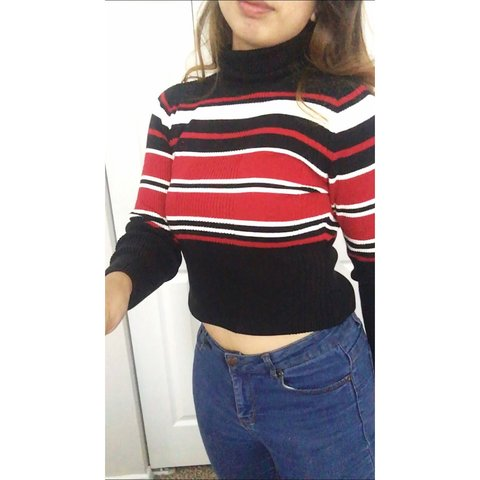 982280667c Petite Sophisticate turtleneck sweater in size small. Black