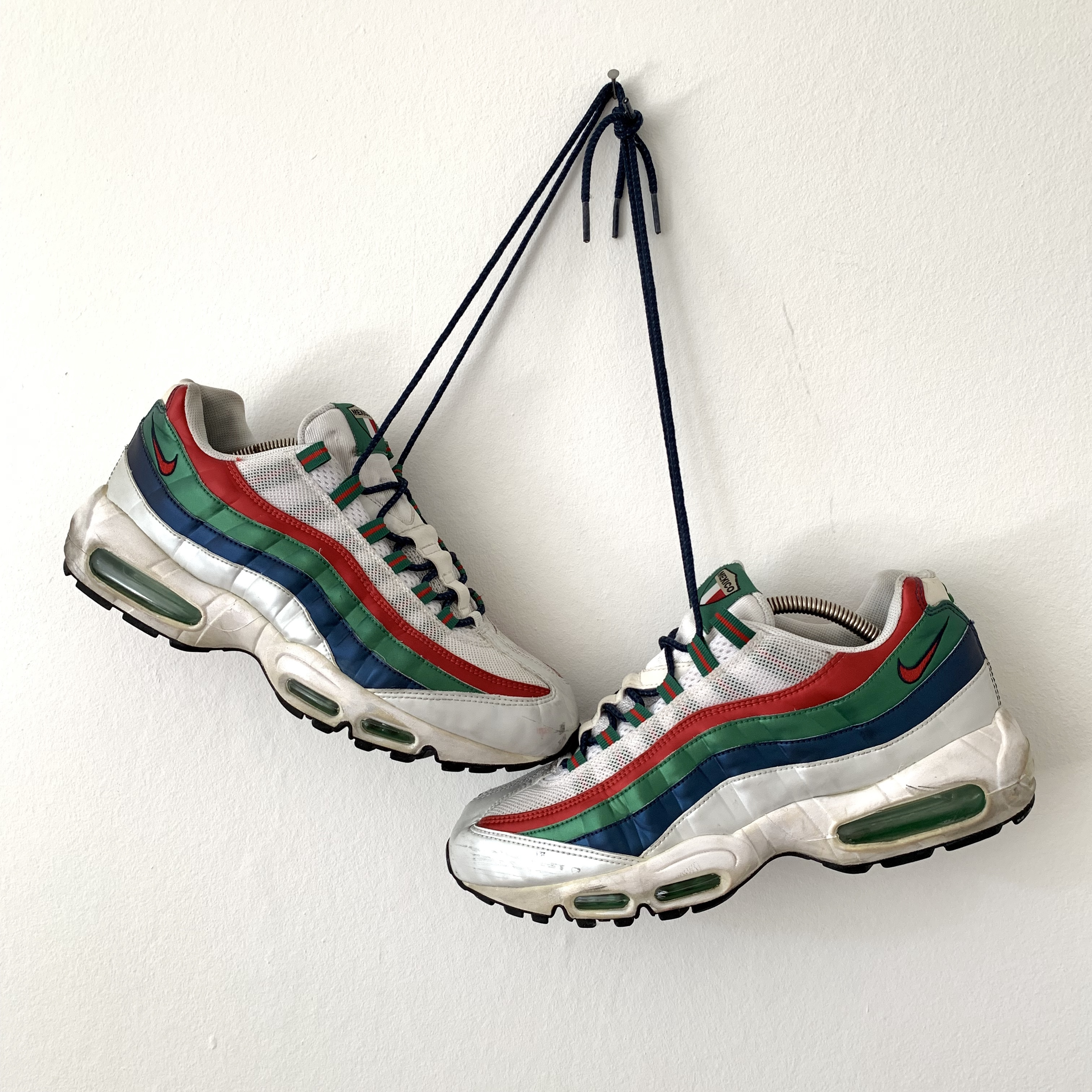 2005 Nike Air Max 95 Mexico World Cup Uk7.5 Depop
