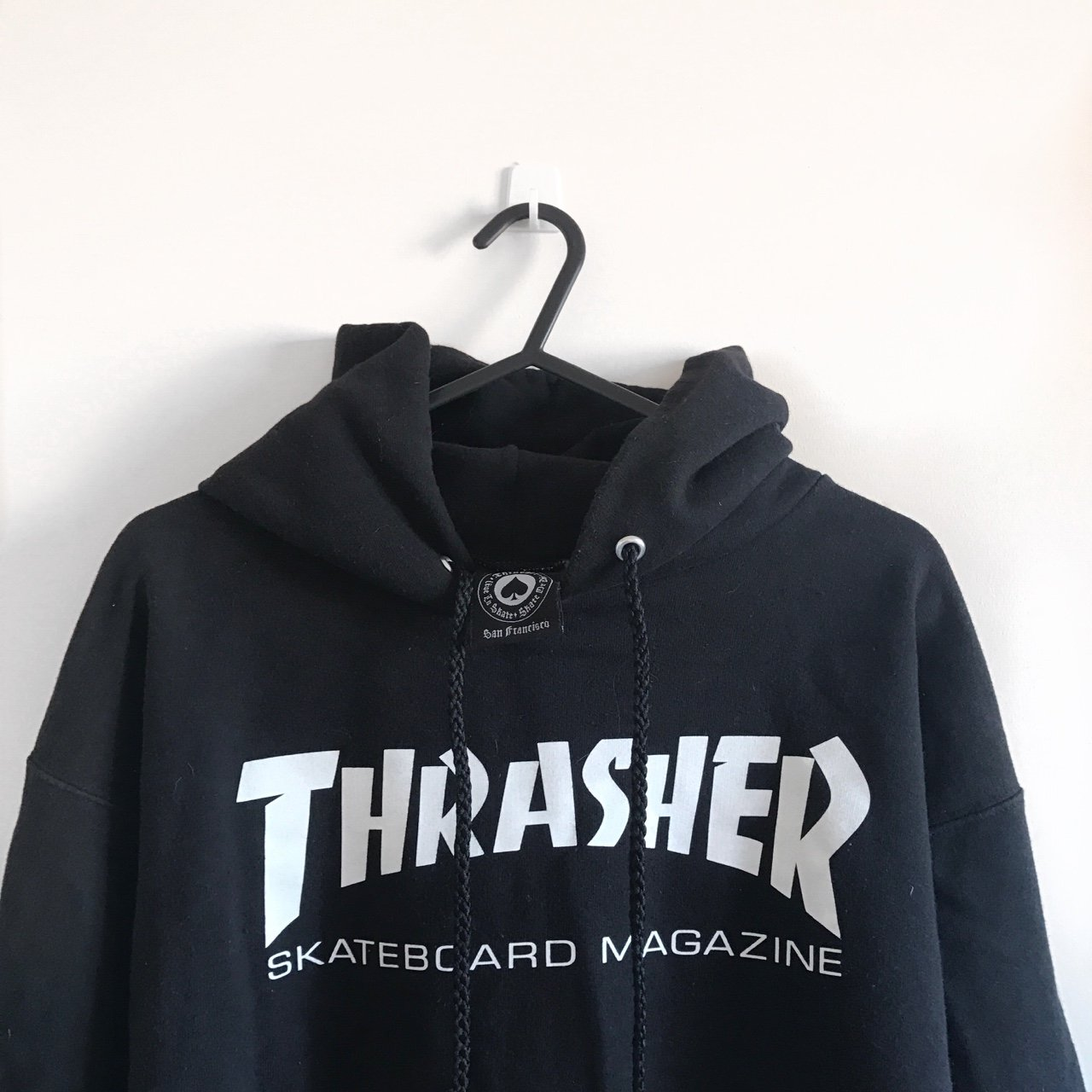 c28ada087b25 Thrasher skater hoodie⛸ 100% authentic brought from 2 - size - Depop