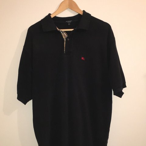 a38b30fd @wenswearables. in 11 hours. Ripon, United Kingdom. 🔥 Burberry Black polo  ...