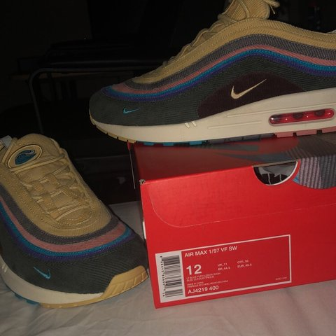 4b451da68fd Sean Wotherspoon Air Max 97 Used once 9 10 condition No ( a - Depop