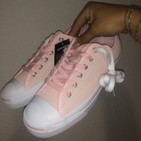... where can i buy converse jack purcell storm pink white gum size mens  depop e0db6 57b33 8459d55c5