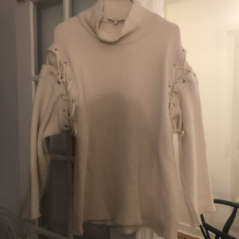 5fc409791 OFF White sweater from IRO Supreme condition Size 34 - Depop