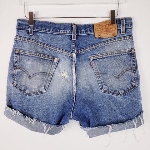7e91242b4e @calsummer. yesterday. California, US. Vintage Levi's 517 mens distressed  ...