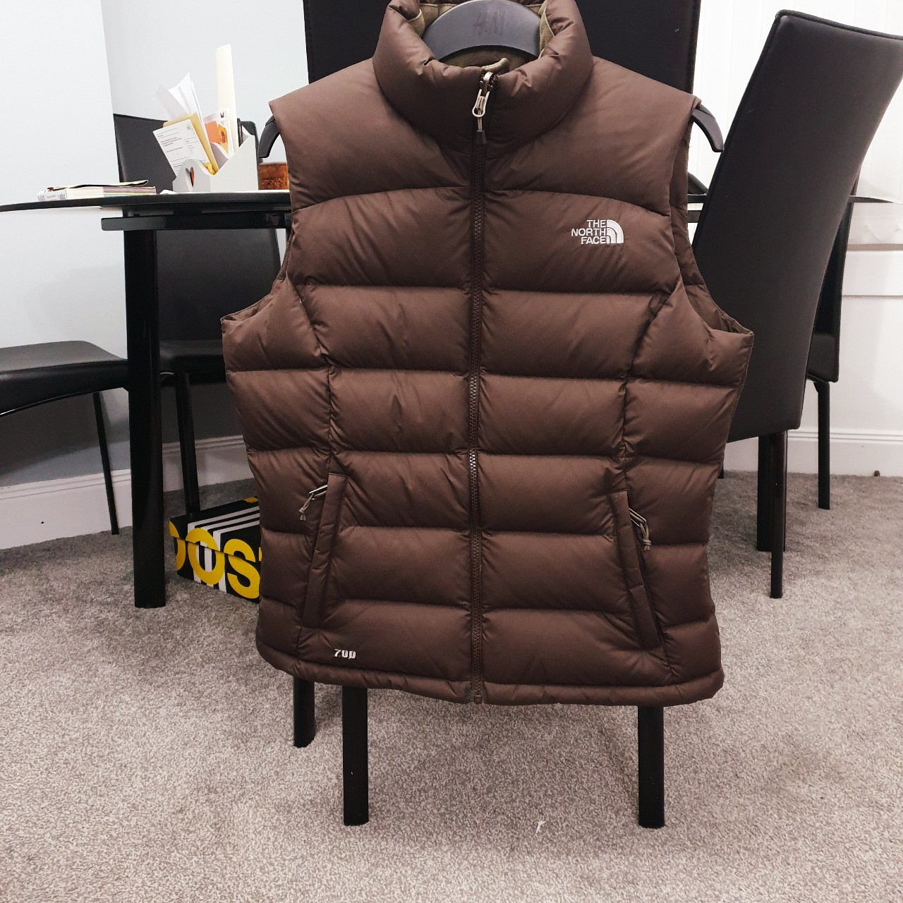 6836f9462 The North Face 700 Down Gilet, Collection... - Depop