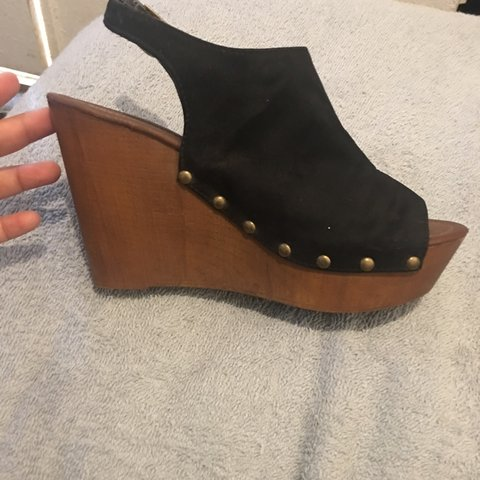 a8a5c23867f NWOT wedges from target size 8 but run a little small so may - Depop