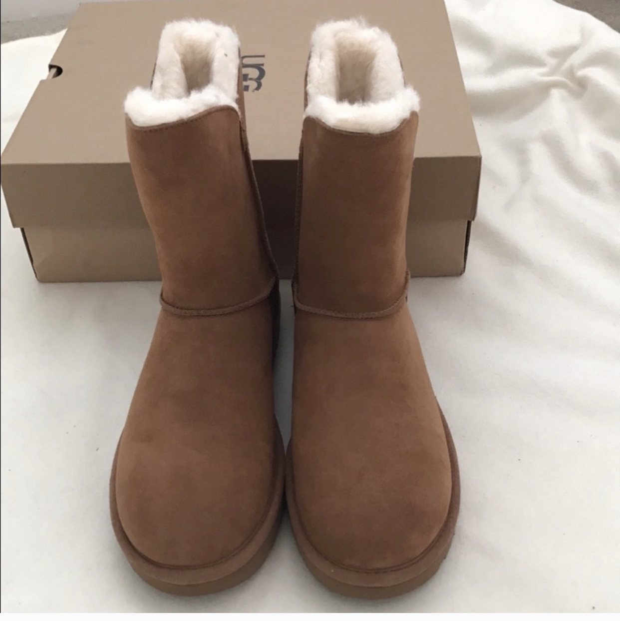 d6dff63cffa Brand new in box authentic UGG Constantine boots... - Depop