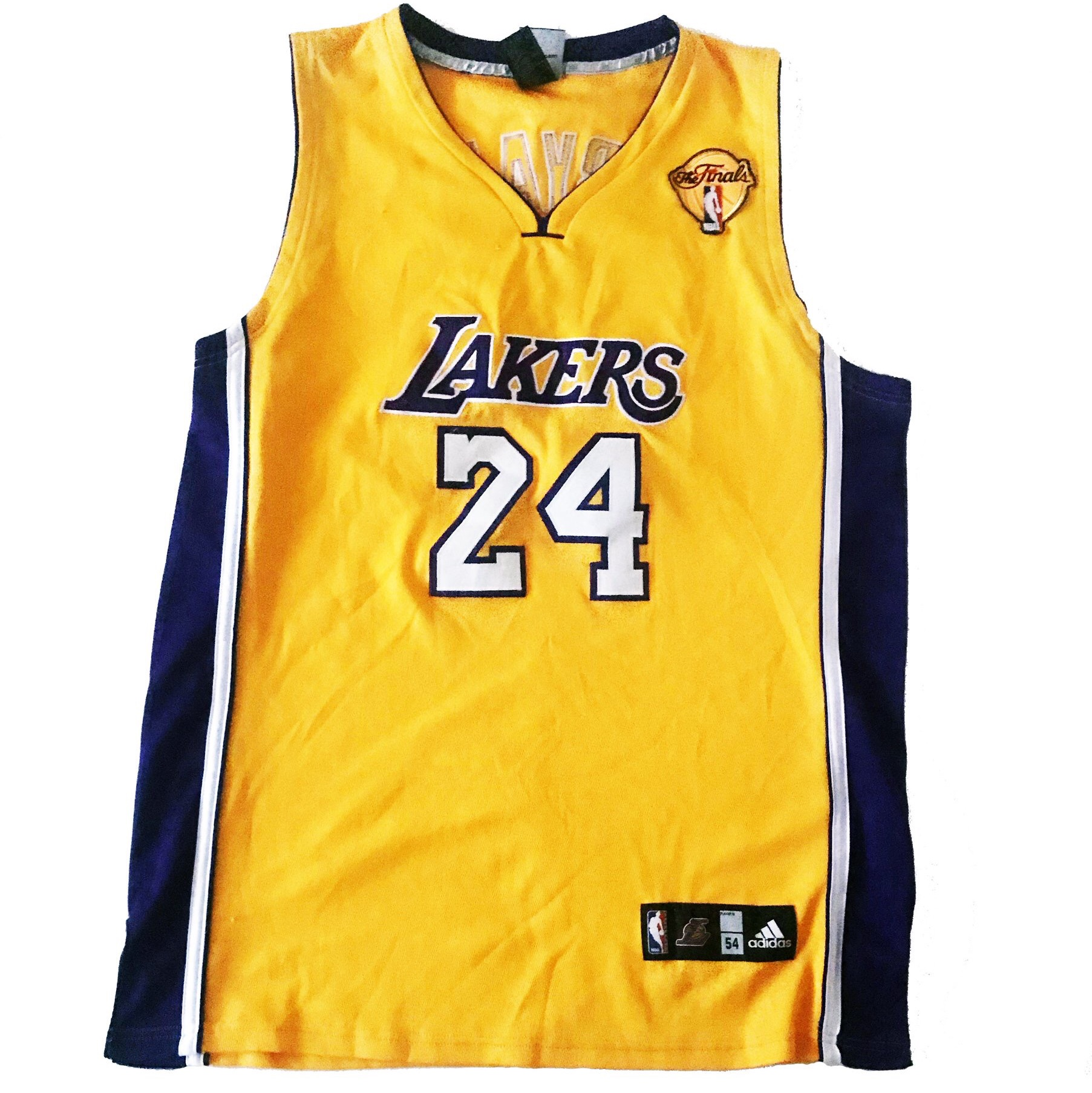 low priced 4cd53 62d6f Kobe Bryant Authentic 2010 NBA Finals Lakers Jersey ...